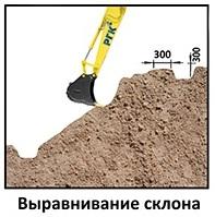 ЕвроДор: Выравнивание склона для геомата