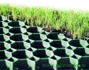 газонная решетка модульная пластиковая