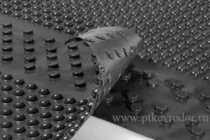 Евродор: геомембрана профилированная