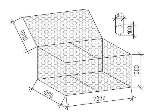 Евродор: коробчатый габион