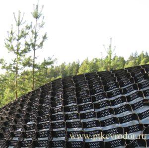Евродор: объемная георешетка