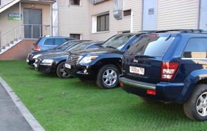 ЕвроДор: экопаркинг (экологическая парковка), зеленая парковка