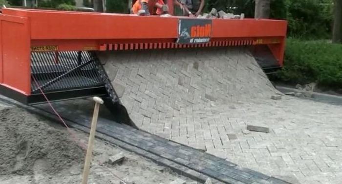Инновации в технологии укладки тротуарной плитки