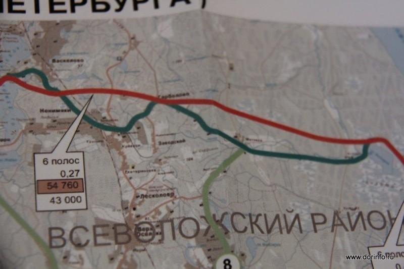 В Санкт-Петербурге планируется строительство КАД-2