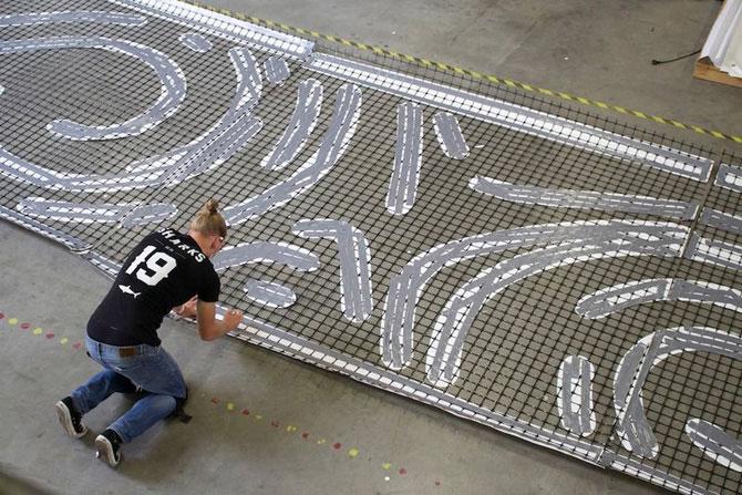 Велодорожка Ван Гога. ПТК ЕвроДор с геосеткой