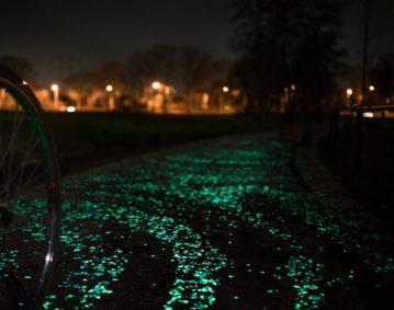 Велодорожка, как репродукция картины Ван Гога в Нидерландах
