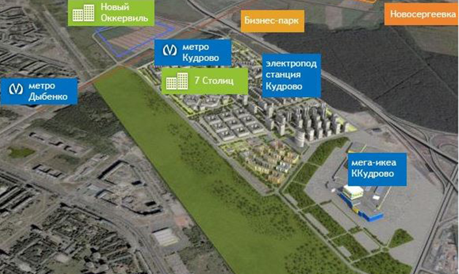 От развязок до станции метро к 2025 году в Кудрово за счет инвесторов.