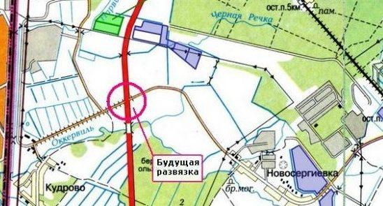 Развязка в Кудрово