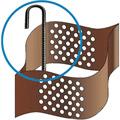 применение мет анкера с объемной георешеткой от евродор