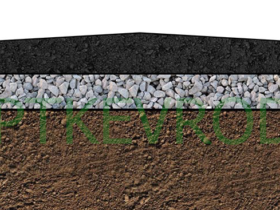 Система дренажа для дорожного покрытия ЕвроДор