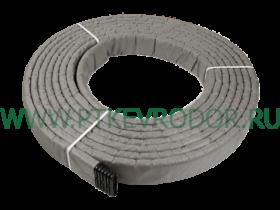 Труба дренажная гофрированная плоская SN16 160х40мм с фильтром с перфорацией (бухта 25 п.м
