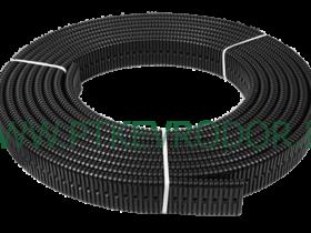 Труба дренажная без фильтра с перфорацией 160х40