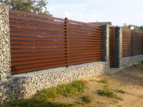 Забор из сварных габионов от ЕвроДор